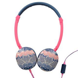 Oriental Print Headphones