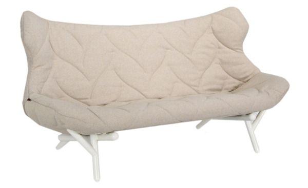 Метки: Маленькие диваны.              Материал: Металл, Ткань.              Бренд: Kartell.              Стили: Лофт, Скандинавский и минимализм.              Цвета: Бежевый, Белый.