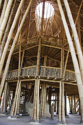 Heart of Green School built with bamboo