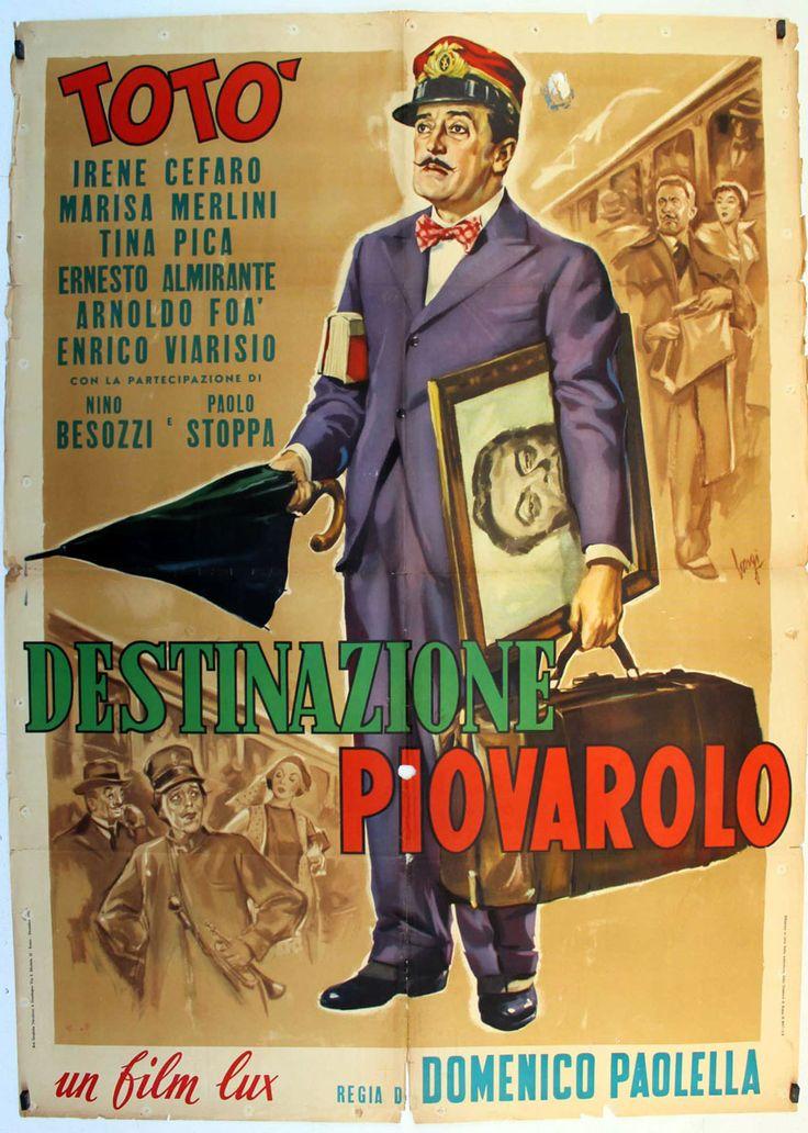 """""""DESTINAZIONE PIOVAROLO"""" MOVIE POSTER"""