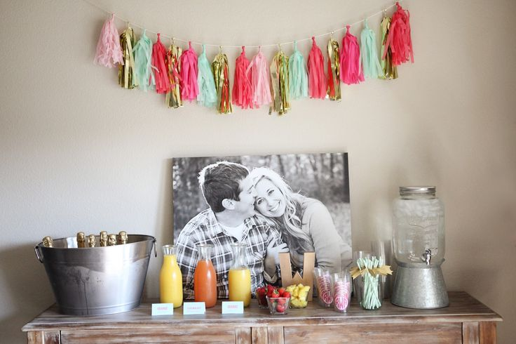 Mimosas & Monograms Bridal Shower
