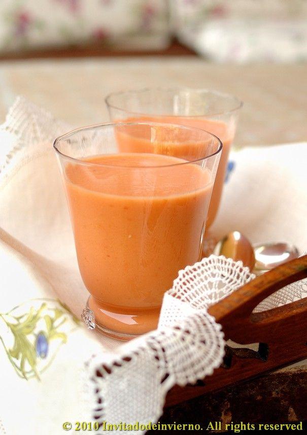 Peach gazpacho 2