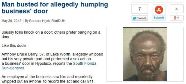 Florida Insanity - Amazingly Weird News Reports From Floriday  (15 of 28)