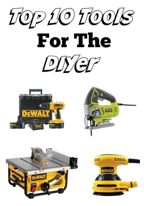 Top 10 Tools For The DIYer | eBay Guides