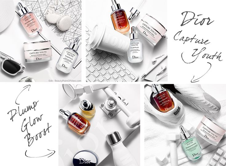 NEW! Dior Capture Youth Serums - also great as makeup primers! #dior #skincare #beauty