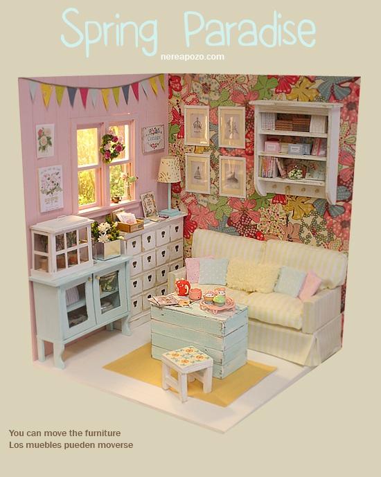 M s de 1000 ideas sobre muebles de casa de mu ecas en - Muebles casas munecas ...