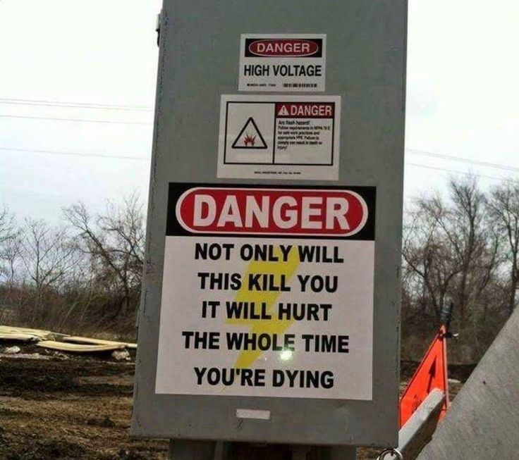 """You Had One Job on Twitter: """"Finally a sign telling it like it is…"""