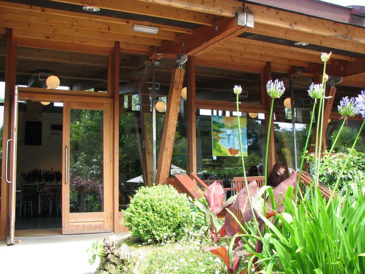 The Visitor Center, Trebah Garden, Cornwall