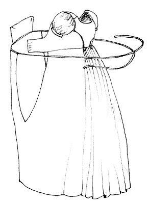 Tutorial: Bib Front Regency Dress style