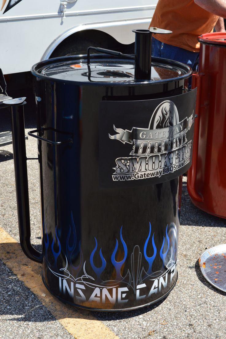 gateway drum smoker customized uds gatewaybbqstore smoker bbq. Black Bedroom Furniture Sets. Home Design Ideas