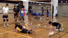 Volleyball Diving Drill: UTS Junior Boys Training Sydney - How to dive in volleyball - YouTube