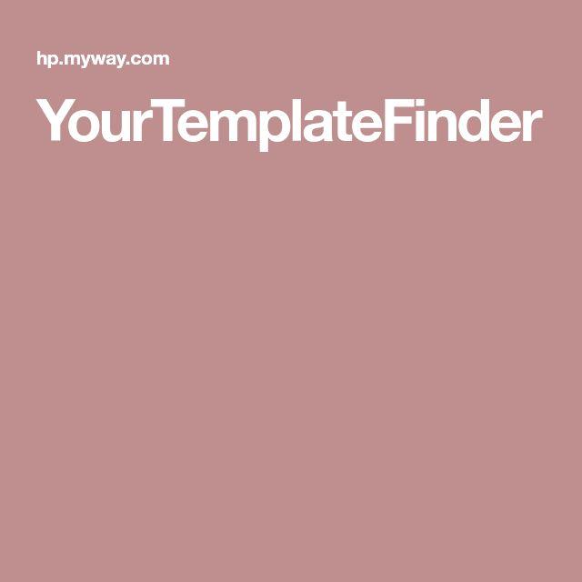 YourTemplateFinder