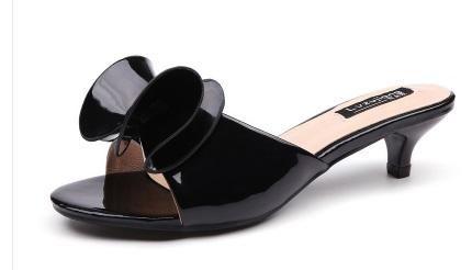 Sweet Bow high heels Princess Slipper