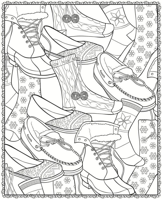 Creative Haven WinterScapes Coloring Book