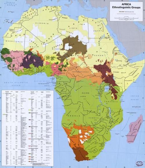 African Ethnolinguistic Groups.