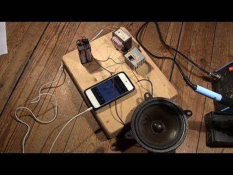 Fabriquer un amplificateur audio simplement. - YouTube