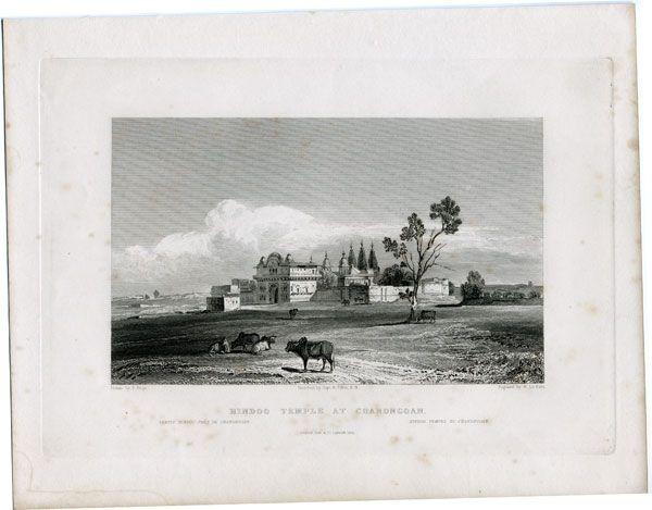 Hindoo Temple at Chandngoan
