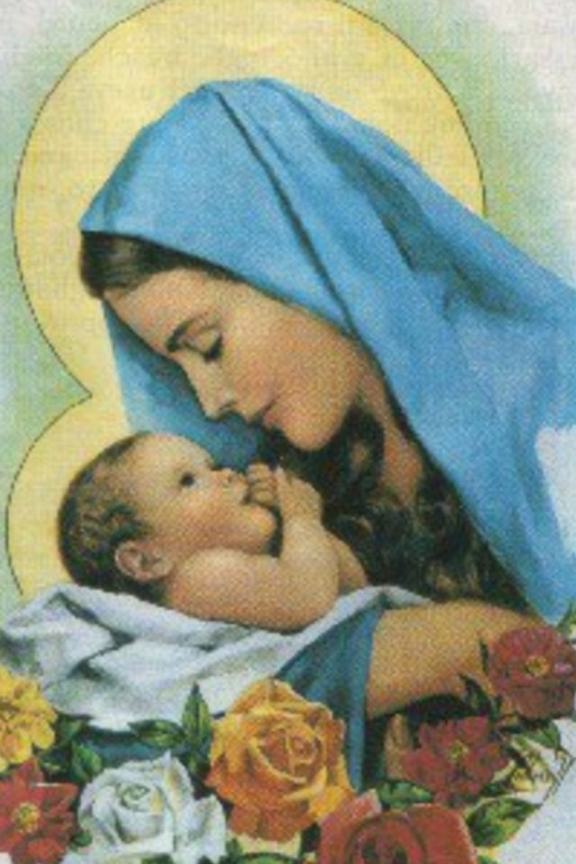 The Blessed Virgin Mary and Baby Jesus                                                                                                                                                                                 More