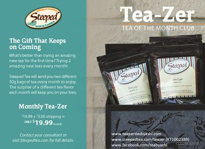 The Heart Link Network Langley BC Chapter : Tea-Zer with Ashleigh from Steeped Tea