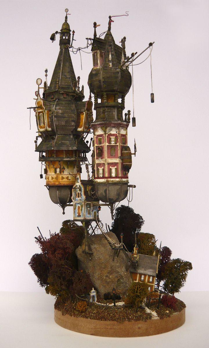 Steampunk Tendencies | Clock Tower by Gábor Eszenyi