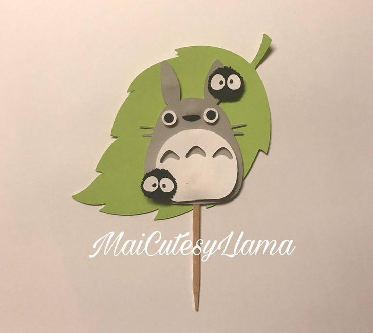 Totoro Cake Topper Center piece decoration-totoro birthday ...