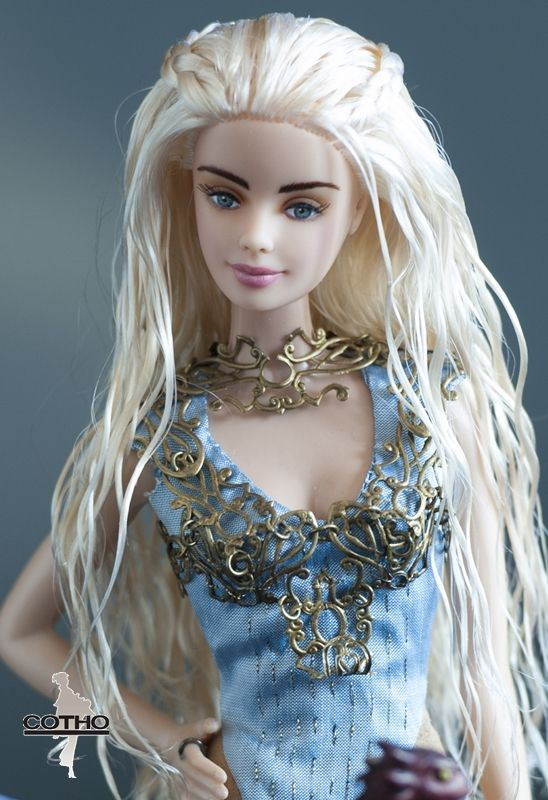 Daenerys OOAK doll the dragon's mother inspired by Game of Thrones