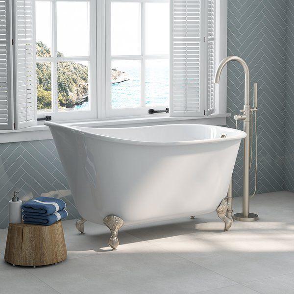 54 X 30 Clawfoot Soaking Bathtub Clawfoot Bathtub Clawfoot Tub Clawfoot