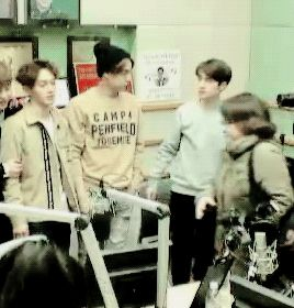 It looks so natural for Jongin and Kyungsoo to reach for each other....O-O #Feels