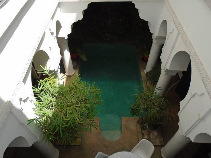 The beautiful oasis of  the riads  tranquilly calm cool out of the madness that is Merrakesh