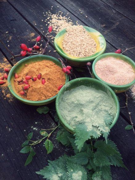 Lena Losciale Skincare. Beauty Boosters. Nettle, Rosehip, Spelt Wheat. Bare Oats. Sweden.