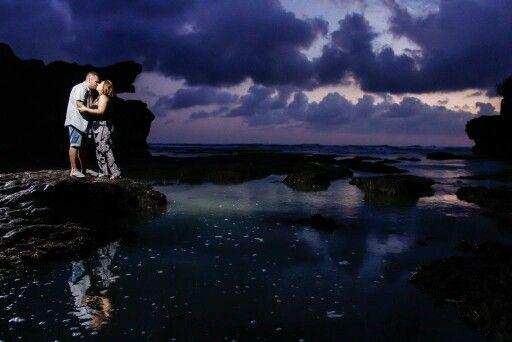 Honeymoon in Bali #nightshot #IndraPhotography #HoneymoonPhotography