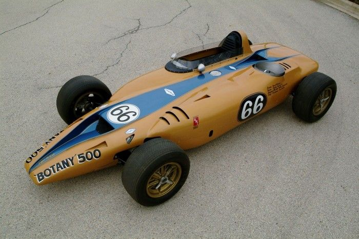 Turbine-powered Shelby-built Indy car heads to auction