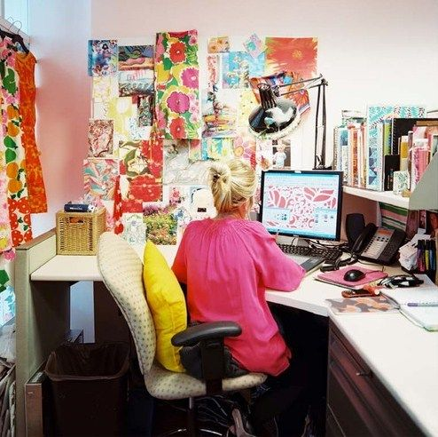 Lilly Pulitzer office.
