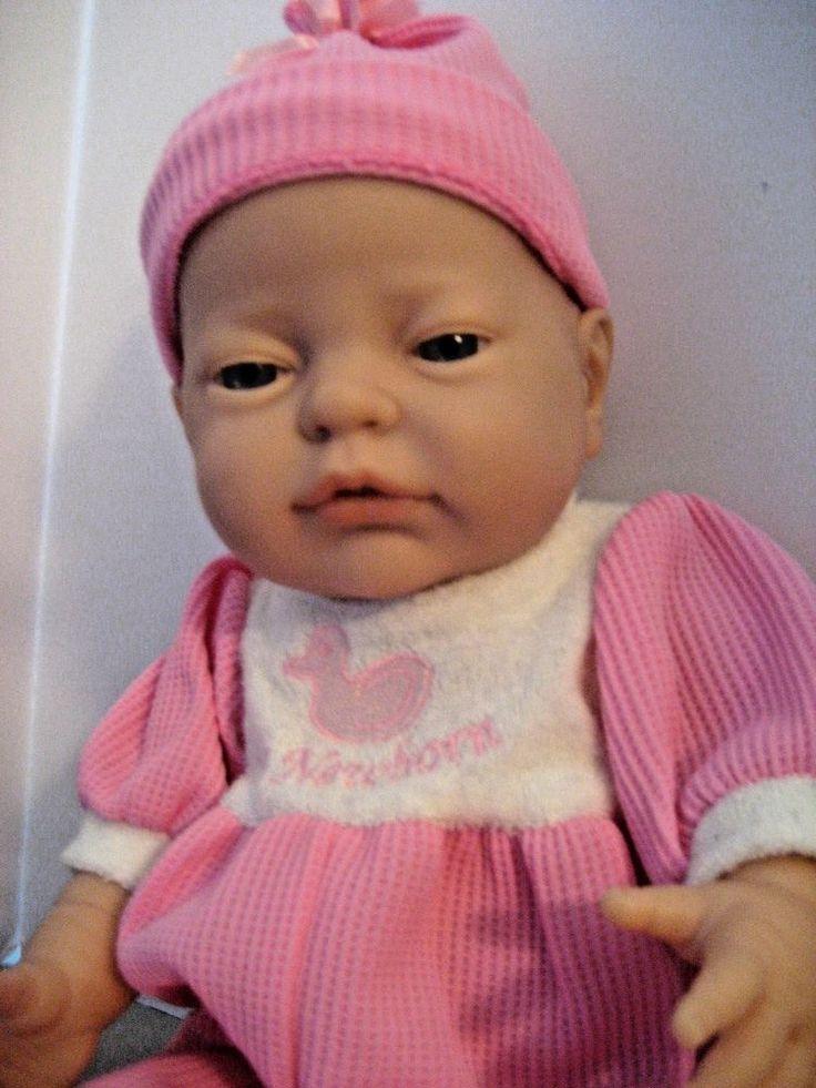 Berjusa La Newborn Quality Vinyl Anatomically Correct Doll