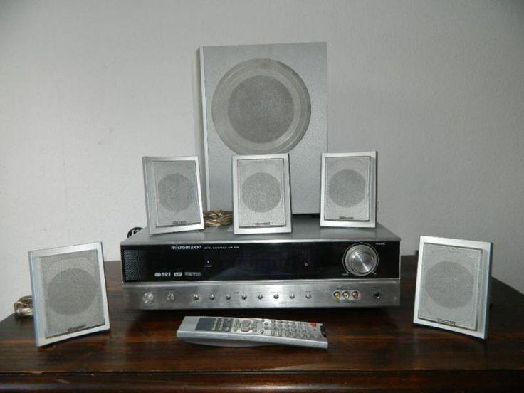 Dolby Surround Anlage mit 5 Lautsprecher und einen Subwoower.Alles top funktionstüchtig!Kein Versand, nur AbholungSchauen sie sich auch meine anderen Inserate an...