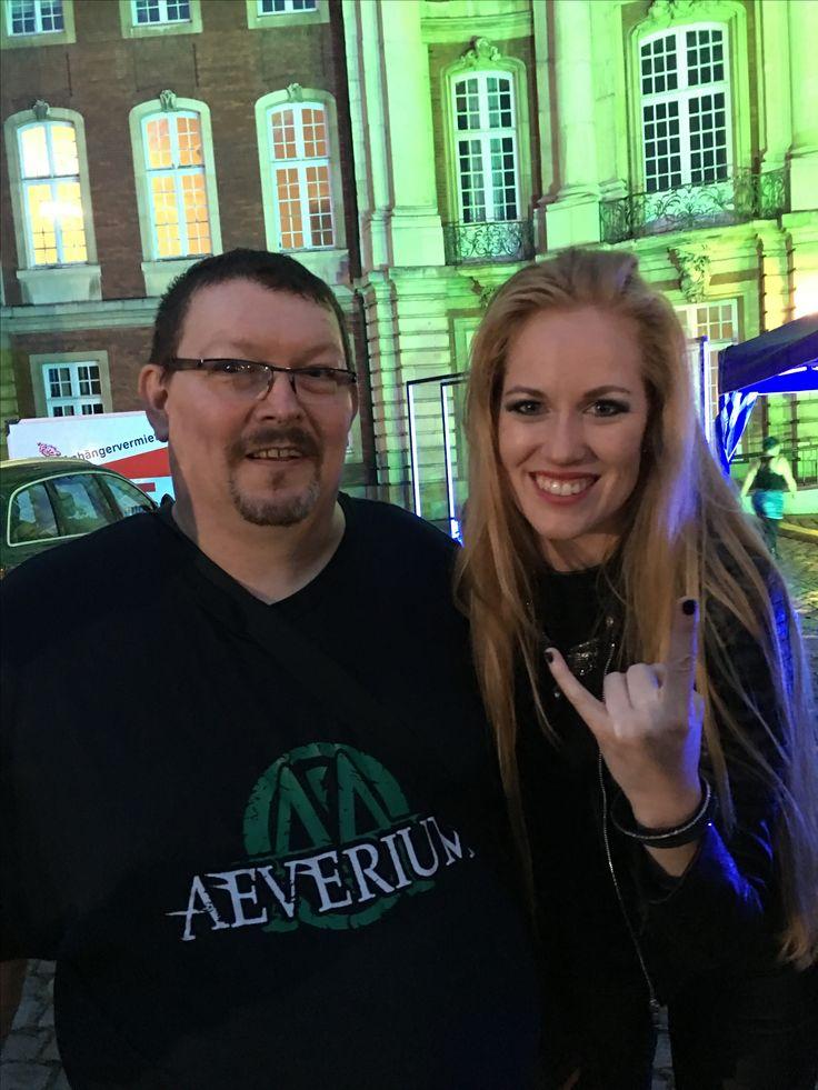 Aeva Maurelle, Singer from Aeverium @Das Schloss rockt Münster 30.06.2017