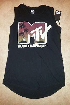 Tank T Shirt Girls MTV Print | eBay