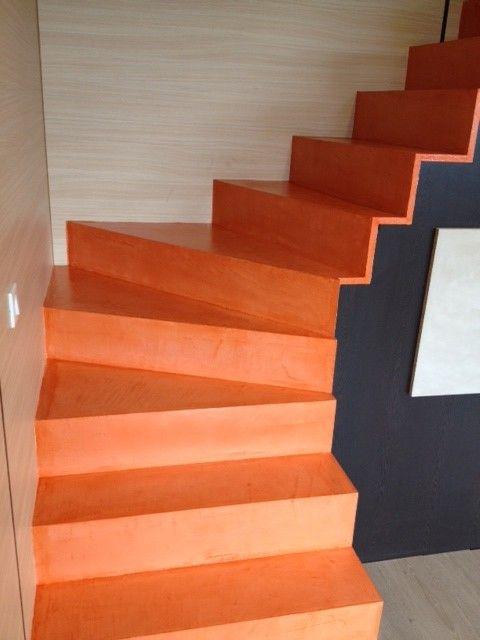 Afficher l 39 image d 39 origine b ton cir escalier microtopping sta - Escalier beton cire prix ...