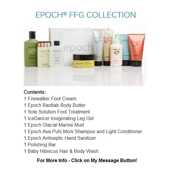 Epoch Ffg Collection Feet Treatment Hand Sanitizer Glacial