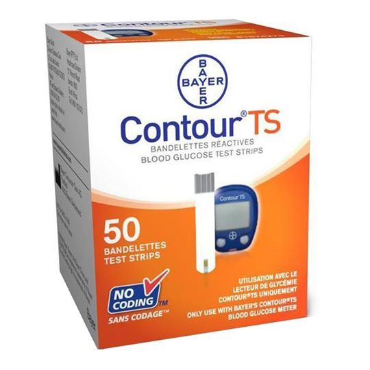 Bayer Contour TS - 50 Test Strips - Lowest Price Ever Only on Global Health Care & Fitness Rs.899.00 Only  @Global Health Care and Fitness