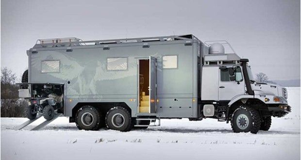 Mercedes-Benz Zetros 6×6: A Luxury Hunting Fortress on Wheels [VIDEO]