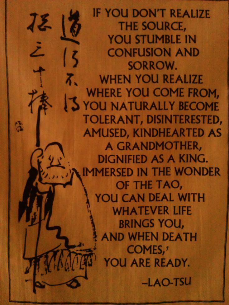 Tao wisdom. | Spiritual | Pinterest | The wisdom, Wisdom ...