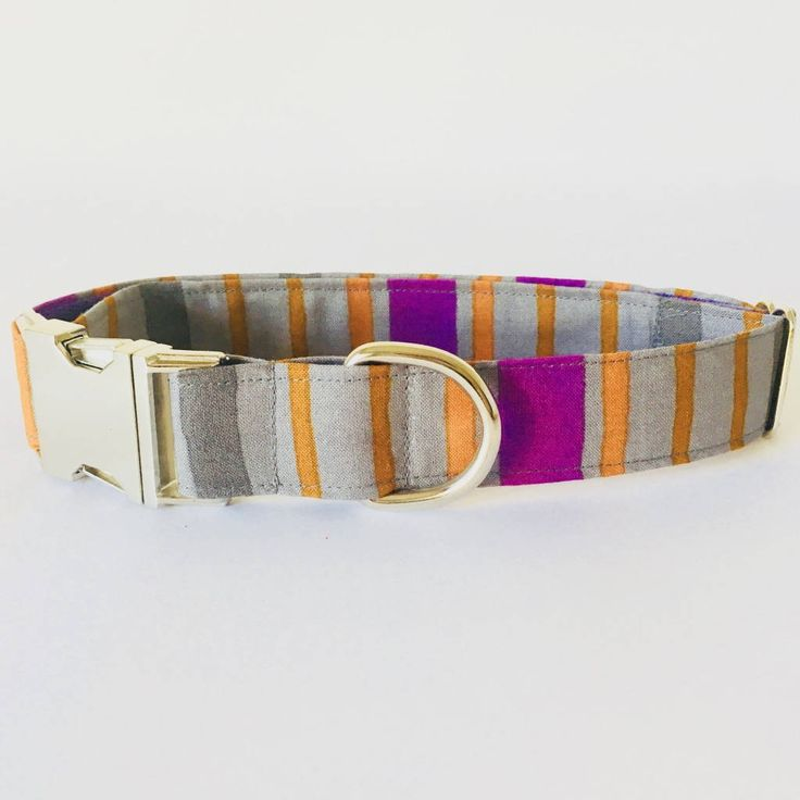 Collar perro Rayas moradas Fantasia (Metal o Plástico), Collar Hebilla de clic, Collares perro, Correa perro - 4GUAUS.COM de 4GUAUS en Etsy