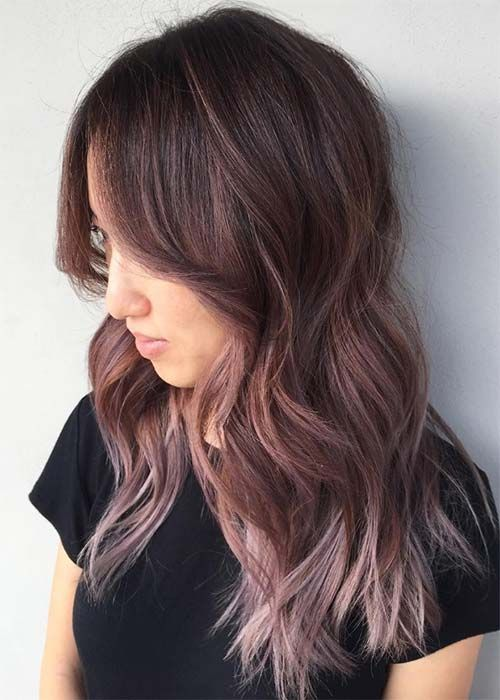 awesome 20 Pretty Chocolate Mauve Hair Colors: Ideas to Inspire,Chocolate mauve hair colours are excellent for the upcoming season; the colour is a fancy association of a number of hair colours that create an gener... #naturalskincare #skincarepro