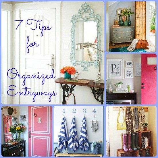 Best 25 organized entryway ideas on pinterest office for Foyer organization ideas