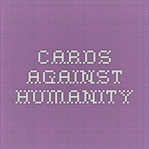 Cards Against Humanity - Ein Kartenspiel gegen die