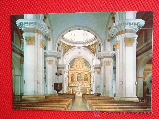 Postales: POSTAL INTERIOR DE LA IGLESIA DE MUNIESA , TERUEL , VER FOTO REVERSO - Foto 1 - 22107927