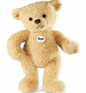 Steiff Kim Teddy Bear 65cm Beige 2014 This Steiff Kim Teddy Bear is made from soft luxurious plush in a russet colour. Its overall size is 65cms. He got a soft velvety face and soft paw pads a big black nose and black eyes. It has the Yel http://www.comparestoreprices.co.uk/teddy-bears/steiff-kim-teddy-bear-65cm-beige-2014.asp
