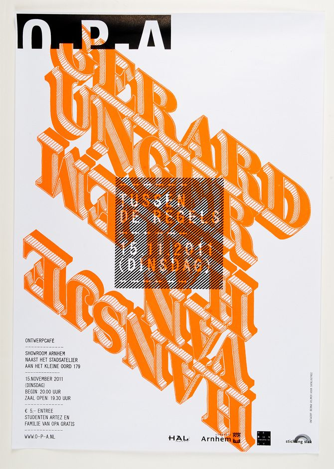 Lift-Off Poster - Bernd Volmer — Type and Graphic Design