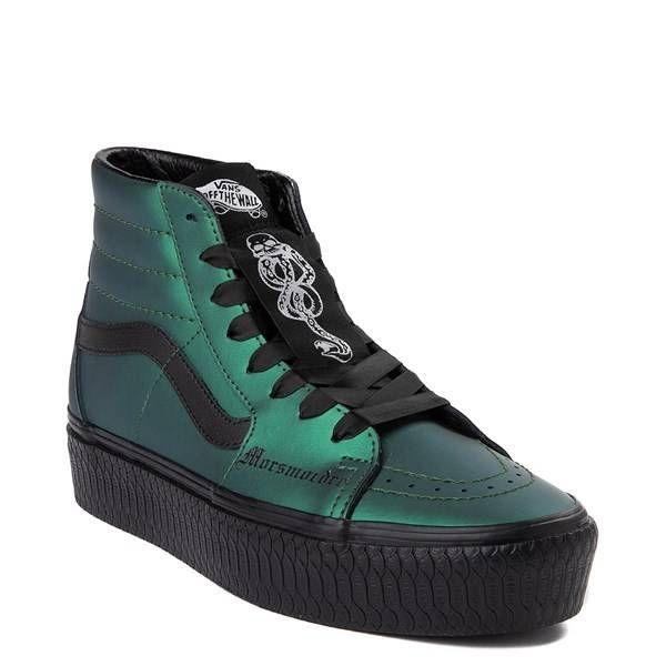 Vans x Harry Potter Sk8 Hi Dark Arts Platform Skate Shoe in